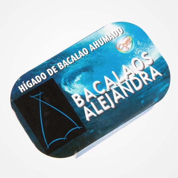 Granblau, Barcelona: FOIE BACALAO ALEJANDRA